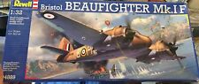 Revell Bristol Beaufighter Mk.IF 1/32  04889  Rare!