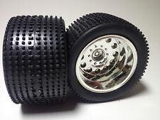 9,99€ / Stück Carson Rock Warrior Truck 1/10 Räder Chrome Felgen Offroad Reifen