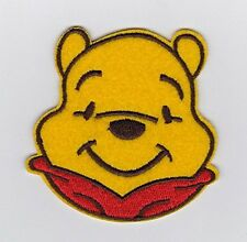 Winnie the Pooh Cutie Pooh Bear head simle Embroidered Iron on / Sew On Patch