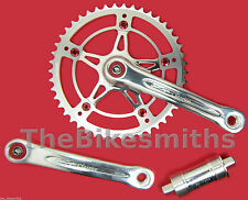 DIA GRAND COMPE CLASSICO 46t x 165mm Track Bike Crank Set & BB Vintage Style