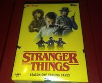 2018 Topps Netflix Stranger Things S1 Blaster Box 10 Packs 1 Patch Chase Inserts