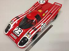 NOREV Porsche 917 K Winner 24H Le Mans 1970 (Richard Attwood et Hans Herrmann) Echelle 1:12 Voiture Miniature - Rouge