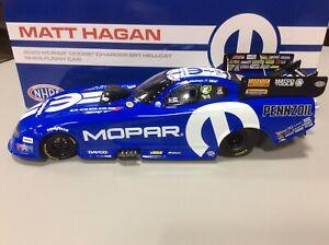NEW!! 2020 MATT HAGAN MOPAR Dodge Charger SRT HELLCAT NHRA Funny Car