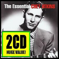 CHET ATKINS (2 CD) THE ESSENTIAL ~ GUITAR LEGEND ~ COUNTRY POP / BOOGIE *NEW*