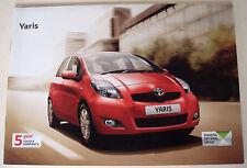 Toyota . Yaris . Toyota Yaris . May 2011 Sales Brochure
