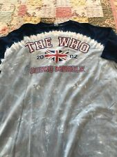 The Who, Going Mobile, tie dye t shirt, Xxl