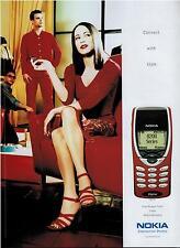 2000 NOKIA Series 8200 Magazine Print AD