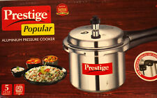 NEW Prestige 5 Liter Popular Aluminum Induction Base Pressure Cooker