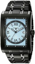 Swiss Legend Men's 40012-BB-102-RN Limousine Blue Textured Dial Watch