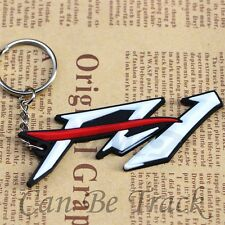 For Yamaha FZ1 High Quality Soft Rubber Motorcycle Key Ring Keychain New