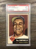1953 Topps Roy Campanella PSA 5.5 Dodgers #27