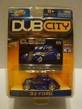 2004 Jada Dub '32 Ford with Flames Collector #073 1:64 Diecast C43-98