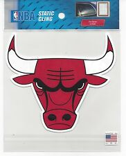 "2014 Static Cling window decal basketball Chicago Bulls 5"" x 5"""