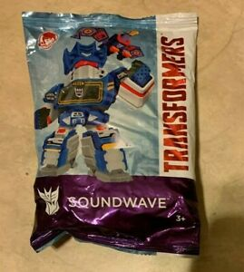 Wendy's Toy Transformers Soundwave NEW Factory Sealed Figure