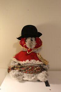 "Vintage 1975 Eden Toys Paddington Bear Aunt Lucy Plush 13"" With Tag"