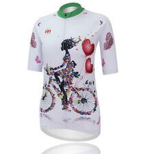 Cycling Girl Women's Cycle Jerseys Tops Short Sleeve Laides Cycling Shirts AU