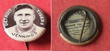 1910 Sweet Caporal Pins Hughie Jennings Detroit Tigers