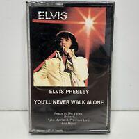 Elvis Presley You'll Never Walk Alone Cassette Tape1985 RCA Factory Sealed