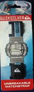 Bracelet montre de sport bracelet scrach Quiksilver Neuf  Bleu