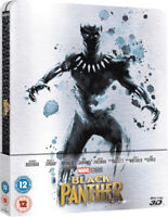 Marvel Black Panther 3D Blu-ray - Limited Edition Steelbook - Sold Out OOP
