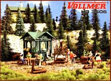 Vollmer 3606 ( 43606 ) H0 - Grillplatz mit Hütte NEU & OvP