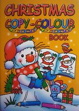 A5 Christmas Copy Colouring Book (32 Pages)A5 Christmas Copy Colouring Book (32