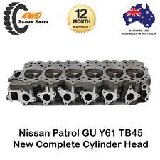 Nissan Patrol GU Y61 TB45 Complete Cylinder Head w/ Valves and Springs 6 Cyl 12V