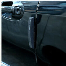 4PCS Black Car Door Edge Guards Trim Molding Protection Strip Scratch Protector