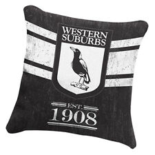 NRL Western Suburbs Magpies NRL HERITAGE Cushion fabric Pillow Christmas Gift
