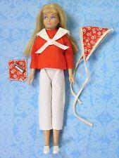 Vintage Barbie Skipper Cricket Clothes 14101 Ship Ahoy Sailor + Extras EXLNT!