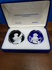 Franklin Mint bicentennial paperweights Marquis de Lafayette & George Washington