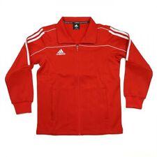 NEW adidas Martial Arts Track Suit Jacket Gym Taekwondo Karate MMA-RED/WHITE