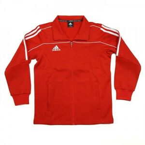 NEW adidas Martial Arts Track Suit Jacket Gym Taekwondo Karate MMA-RED/WHITE