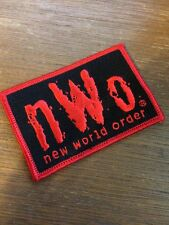 1998 nWo PATCH ~ Wolfpac WCW wrestling WWE VEST VTG Punk NXT 90s Red wwf iron on