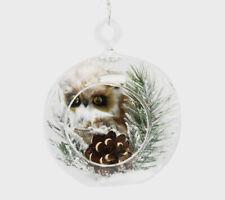 Snow Owl Ornament