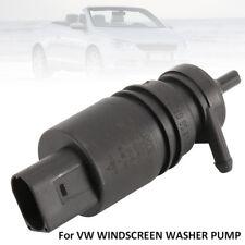 WINDSCREEN WASHER PUMP FOR VW BORA CADDY EOS GOLF JETTA PASSAT POLO TRANSPORTER