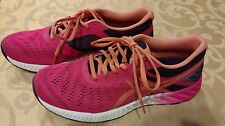Asics womens Bright Pink size 9 Fuzex Lyte T670N Running shoes