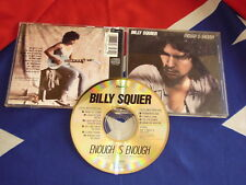 BILLY SQUIER - enough is enough   CD AOR 1986 CDP7 46327 2