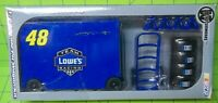 DIE-CAST 1:24 SCALE #48 LOWE'S JIMMY JOHNSON NASCAR PIT WAGON KIT MOTORWORKS