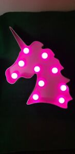 Gorgeous metal light up Unicorn
