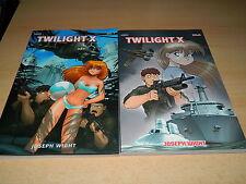 EIDALON Anime/Manga - Twilight X -  Vol. 1 & 2 - Joseph Wight - NEU