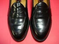 MADE IN USA! Men's Dress Shoes COLE HAAN Penny Loafers Sz 10 M Black Leather