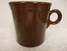 HLC Homer Laughlin Fiestaware Dark Brown Coffee Tea Cup Mug Fiesta