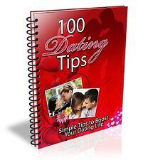 """ 101 Dating Tips ""  Ebook - PDF - Love Couples Friendship Mate Sex Partner Help"