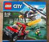 LEGO SET BOITE NEUF THEME CITY 60070 LA POURSUITE EN HYDRAVION DES MARAIS