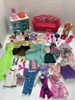 Huge Barbie Clothes & Accessories. Furniture, Pony, Furniture, baking kitchen
