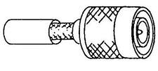 5 x TNC Crimp Male RG58 Adaptor Convertor