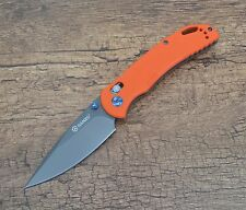 Ganzo G7533-Or Folding Knife 440C Stainless Blade G10 Handle Scales