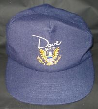 BJ041 Dave Movie Cap Hat Promo New