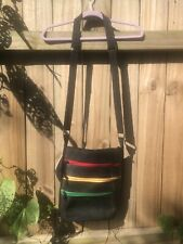 Fair Trade Purse made in Nepal. Recycled Rubber Tires. Adjustable Shoulder Strap